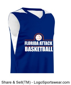 Adult Turnaround Reversible Basketball Jersey Design Zoom
